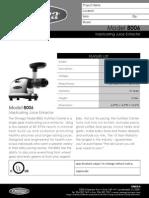 Omega Horizontal (Manual PDF)