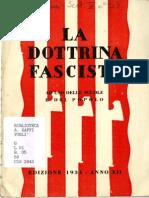 La Dottrina Fascista 1929