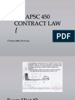 Contract Law 2014