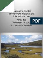 Environmental Law(1)