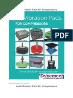 AntiVibration Pads for Compressors