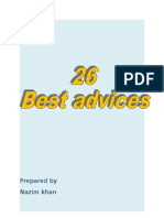26 Best Advices