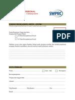 2010_ Formulir Scholarship BPSW-SWPRC