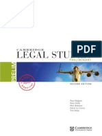 Cambridge Legal Studies Preliminary