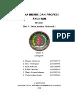 Kelompok 8 Kelas h Etika Bisnis Dan Profesi Akuntan Resume Bab 5 Etika Auditor Eksternal i