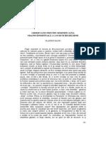 12. C. Baciu - Observatii Privind Semnificatia Transcendentala a Logicii Hegeliene [PL Vol. XVI]