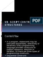 VBS Control Structures