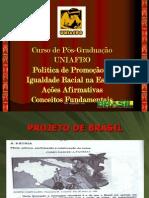 2015 Conceitos Fundamentais AAs Aula 3 Uniafro Pós-Lato-Sensu