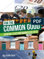 Green Party 2015 General Election Manifesto Searchable