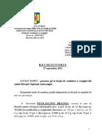 RECHIZITORIU-DRAGNEA Dosarul Referendumului 2013