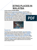 Interesring Places in Malaysia