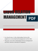 Labor Relation Management1