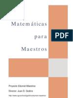 Matematica para Maestros