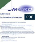 SMURD - Traumatisme Osteo-Articulare