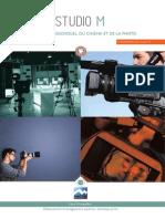 Brochure Formations Studio M Image 2015