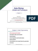 Data Pre Processing