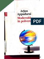 Modernità in Polvere di Arjun Appadurai