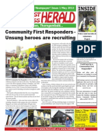 South West Holderness Herald Issue 1 May 15