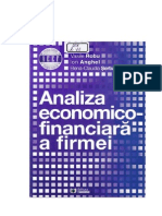 Analiza financiara aprofundata