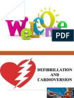 Defibrillation and Cardioversion