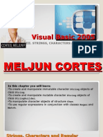 MELJUN CORTES Visual Basic 2005 - 03 Strings