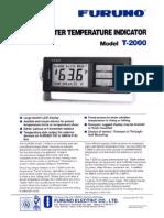 indicador temperatura T-2000