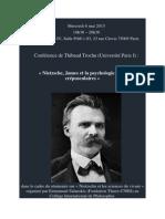 Annonce d'une conférence de Thibaut Trochu_Mercredi 6 Mai 2015