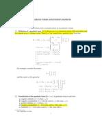 Quad Forms Matrices