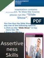 Assertiveness Skills Basics