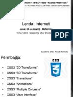 Java9- Css3 (II)