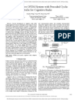 A New Adaptive OFDM System With Precoded Cyclic