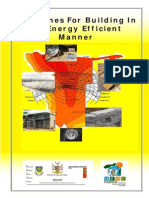 1.9 Guidelines for Building in an Energy Efficienct Manner
