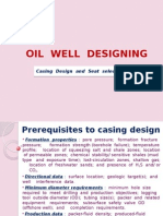 Oil Well Designing