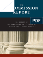 The IP Commission Report - The Report of the Commission on the Theft of American Intellectual Property