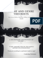 genre and genre theorists
