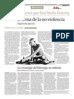 El Discurso de La No Violencia - Gandhi