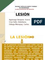 Lesion Derecho