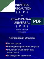 Kewaspadaan Universal