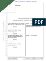 Le, et al. and Zuffa ADR Stipulation