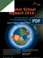 Summer School Alpbach Poster