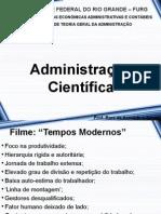 Adm 2014 2º - 01 Administração Científica