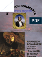 Napoleon Bonaparte-maxime Si Cugetari