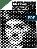230812784 Grimsley Ronald La Filosofia de Rousseau PDF Otrooo