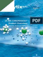 Lcms Chromasolv Sigma Flyer