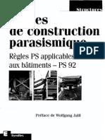 Regles de Construction Parasismique