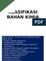 2. Klasifikasi Bahan Kimia