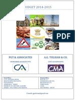 Final Budget Analysis 2014-15