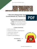 Patologia Del ConcretoPatologia Del ConcretoPatologia Del Concreto