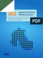 Anuario Estadístico Jujuy 2012