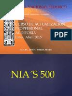 Clase 03 NIA 500